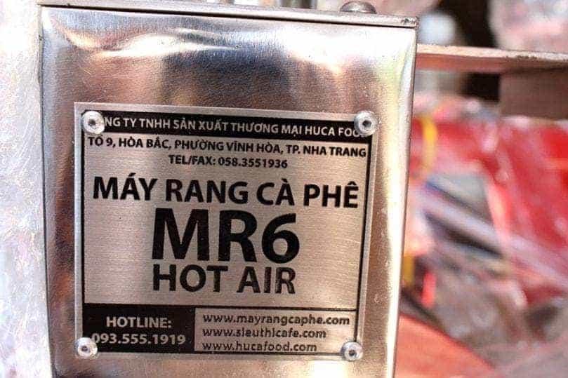 MAY RANG CA PHE MR6 – HUCAFOOD VIETNAM