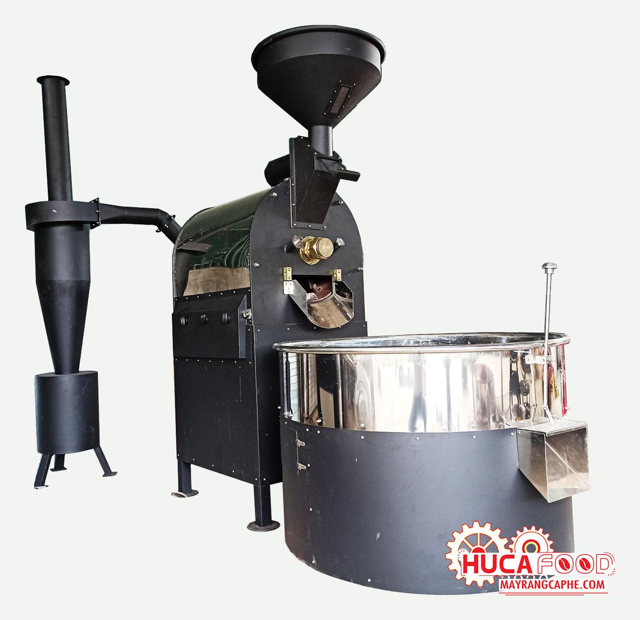 Máy rang cà phê 10kg/mẻ hot air bền - đẹp - giá tốt - Huca Food