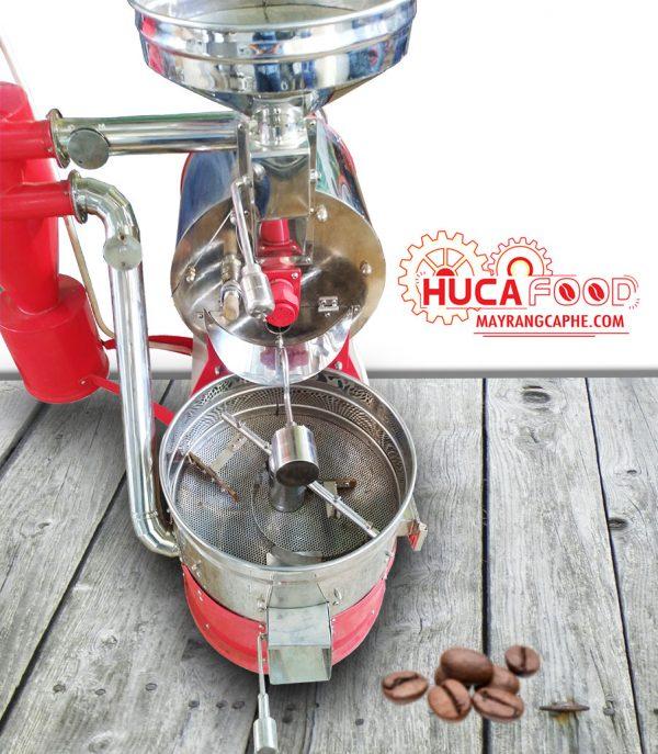 Máy rang cà phê 3kg/mẻ hot air bền, đẹp, giá tốt - Huca Food