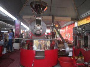 Máy rang cà phê công nghiệp có ưu điểm gì, quy mô sản xuất ra sao. Giá cả ra sao