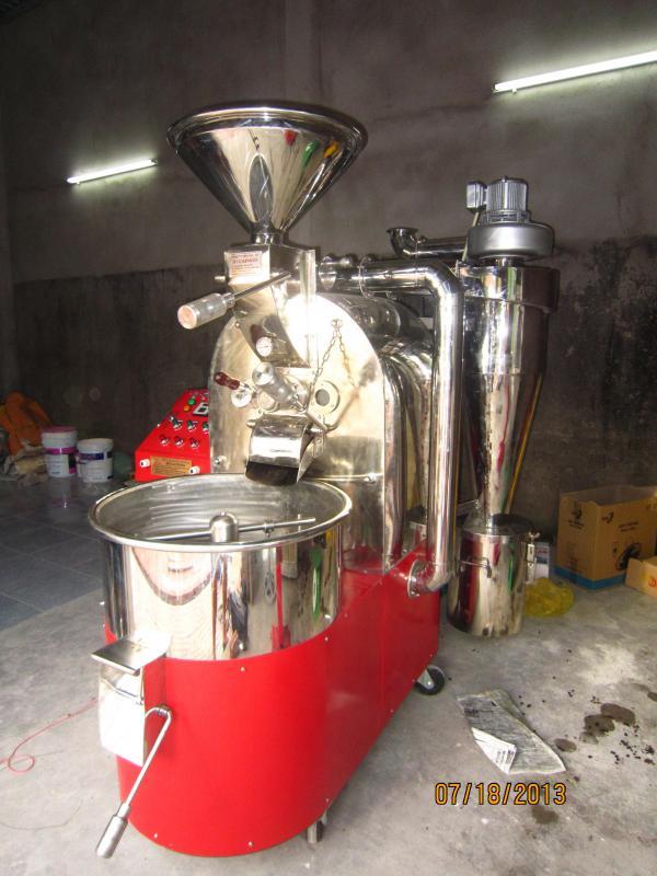 Máy rang cà phê 10kg Huca Food