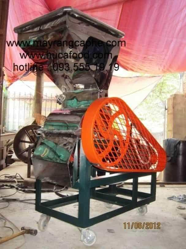 Máy đánh tơi cà phê công suất lớn của Huca Food