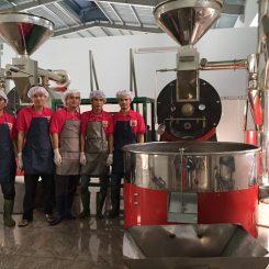 Máy rang cà phê công nghiệp có ưu điểm gì?. Giá cả ra sao?