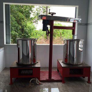 Máy nấu caramel 100kg - Huca Food