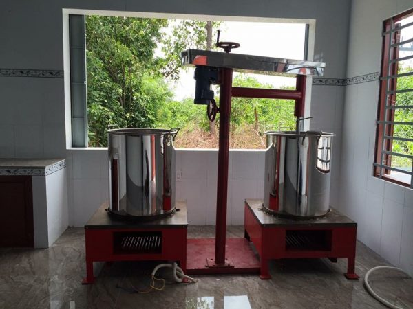 Máy nấu caramel 100kg – Huca Food