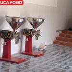 Máy rang cafe công suất 180kg – giờ Huca Food (2)
