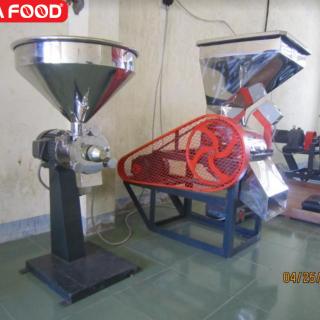 Máy đánh tơi cà phê 100kg Huca Food