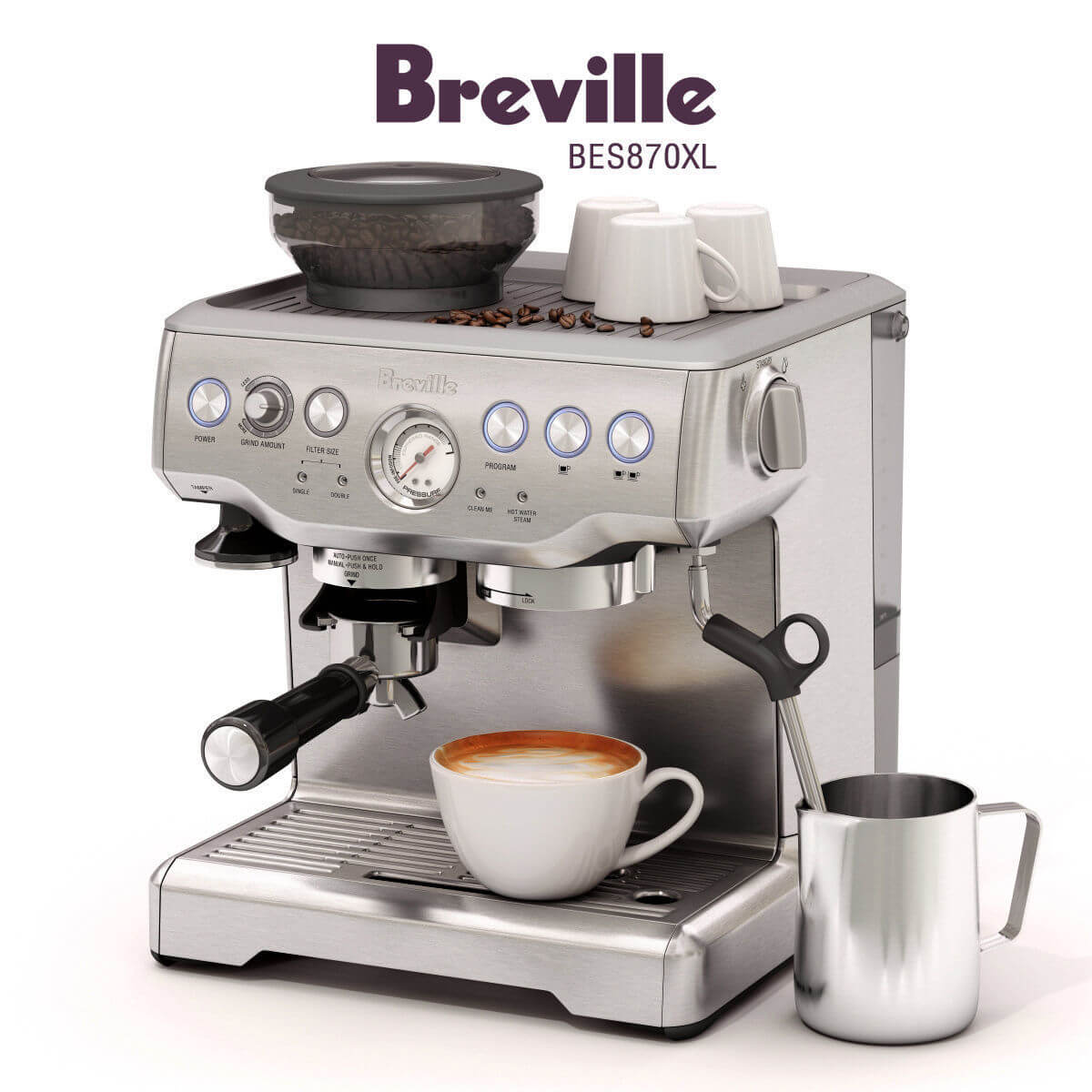 Máy pha cà phê Máy Pha Cà Phê Breville – Phân phối bởi Huca Food