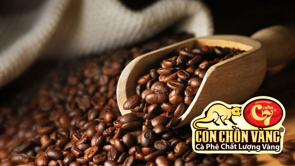 Hạt cà phê rang Huca Food