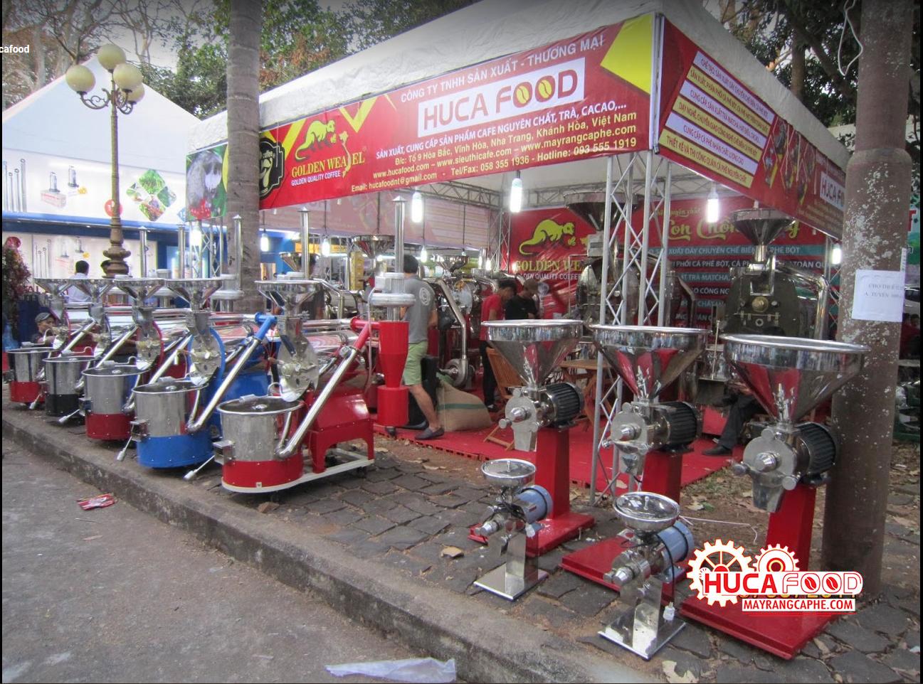 Lễ hội cà phê của công ty Huca Food