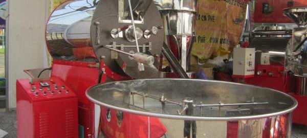 Máy rang cà phê 60kg Huca Food