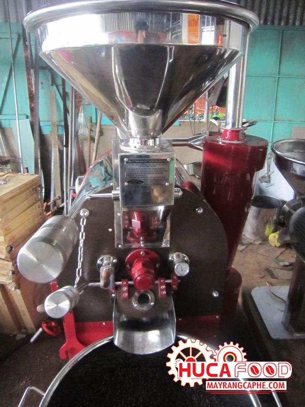 Nguyên tắc hoạt động của máy rang cà phê 60kg / mẻ huca food